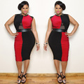 2XL Plus Size Women Summer Dress Sexy Black Red Bodycon Dress Bandage Dress Large Size Evening Party Clubwear Dresses vestido