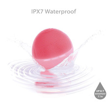 Silicone Brush Electric Cleansing Massager Gentle Exfoliating Deep Skin Waterproof