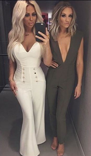 New Arrivals 2017 Gray Nightclub Deep v Fitted Sexy Jumpsuit Blue, Burgundy, Rose Red – Plus Other Colors Available