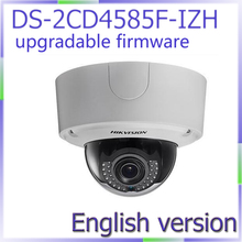 In stock free shipping DS 2CD4585F IZH english version 4K Smart Outdoor Dome Camera built in