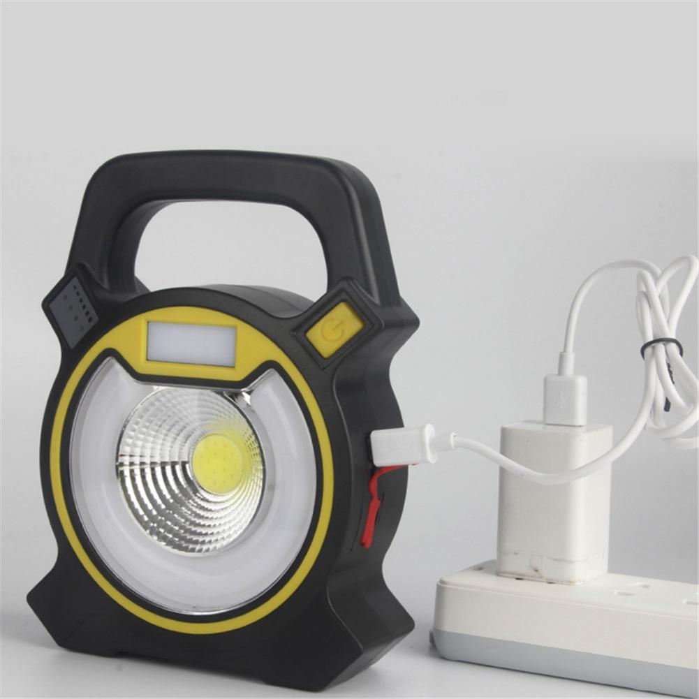 24 W Cob Led Proiettore Portatile Lanterna Esterna Impermeabile 4-modalità Di Emergenza Lampada Del Riflettore Per Escursione Di Campeggio Della Luce Della Tenda Forte Imballaggio