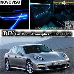 NOVOVISU dla Porsche 911 GT GT1 GT2 GT3 912 959 Carrera wnętrza atmosfera światłowód zespół światła wewnątrz drzwi