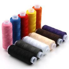 12pcs/set sewing thread sewing clothes line DIY sewing thread for Polyester Sewing Maching Thread sewing thread cross stripes cabbie hat