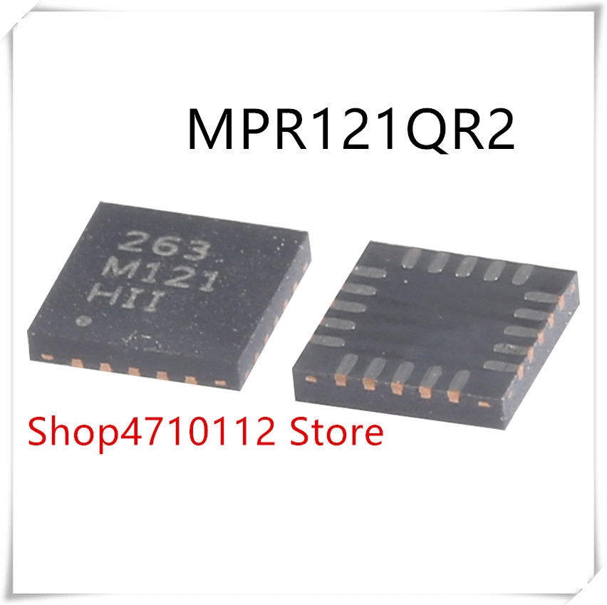 NEW 10PCS LOT MPR121QR2 263 M121 MPR121 QFN20 IC Proximity Capacitive Touch Sensor Controller