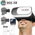 2016 Google Картон VR BOX 2.0 Версия Виртуальная Реальность 3D Очки Для LG G3 G4 G5 Для Huawei P8 p9 плюс Xiaomi Mi5 Meizu X5
