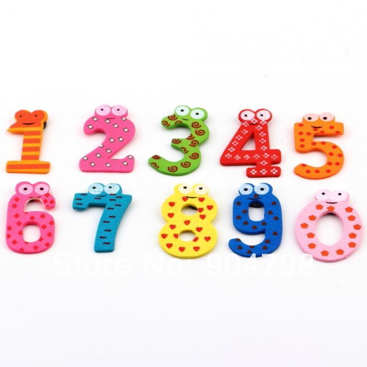 1 Set X Mas Gift Set 10 Aantal Houten Magneet Onderwijs Leer Leuke Kind Baby Toy Wereldwijd We Nemen Klanten Als Onze Goden