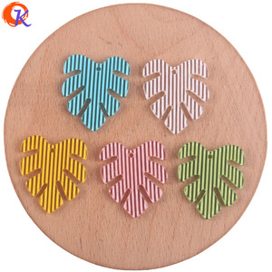 Image 1 - Cordial Design 25*28mm 100Pcs Jewelry Accessories/Earring Connectors/Leaf Shape/DIY Jewelry Making/Hand Made/Earring Findings