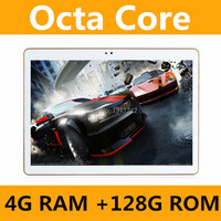 Octa Core 10.1 Inch tablet MTK8752 Android Tablet 4GB RAM 128GB ROM Dual SIM Bluetooth GPS Android 7.0 Tablet PC 10