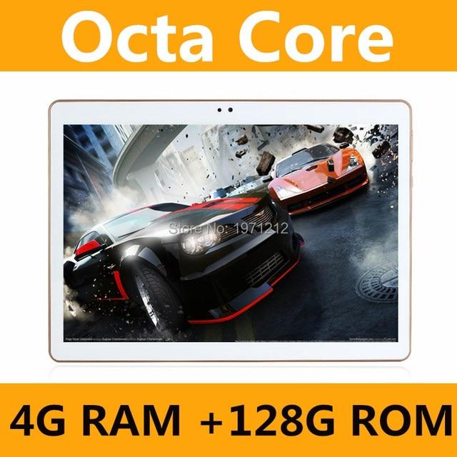 Octa Lõi 10.1 inch máy tính bảng MTK8752 Android Máy Tính Bảng 4 gb RAM 128 gb ROM Dual SIM Bluetooth GPS Android 7.0 máy tính bảng PC 10