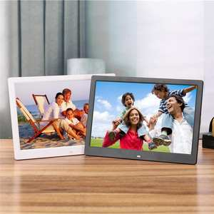 13 inch 1280*800 Digital Photo Frame HD LED Video Display Electronic Album Music porta retrato digital USB2.0 U-DISK SD r15