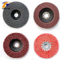 Tungfull drill attachment 4 in 1 Angle Grinder Tools for Metal Finish Coarse to Fine Polishing Abrasive Grinding Disc In Stock