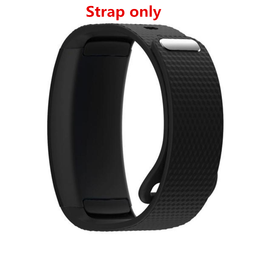 Luxury Watchband Silicone Watch Replacement Band Strap For Samsung Gear Fit 2 SM-R360 Straps Size S Correa Dignity JU04 2016 silicone rubber watch band for samsung galaxy gear s2 sm r720 replacement smartwatch bands strap bracelet with patterns