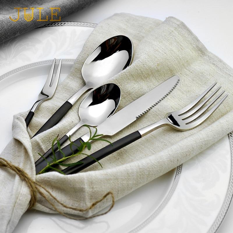 24pcs Western Royal შავი - სამზარეულო, სასადილო და ბარი - ფოტო 3