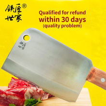 Boning butcher knife stainless steel cleaver knife Chinese handmade forged chop bone knife kitchen knives кухонные ножи