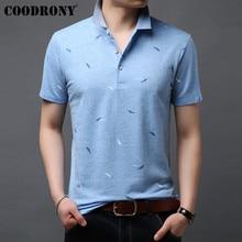 COODRONY T Shirt Men 2019 New Arrivals Summer Streetwear Casual Cotton Tee Shirts Fashion Design Short Sleeve T-Shirt S95065