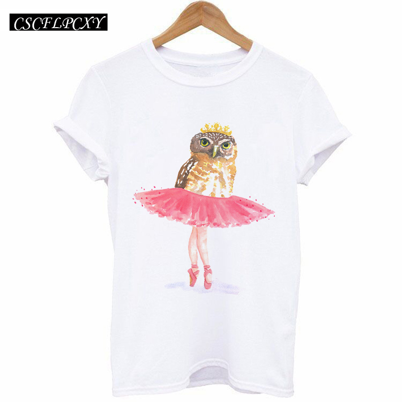 HTB1jyiSd4k98KJjSZFoq6xS6pXa9 - 2017 Casual T-shirt Women Tshirt Short Sleeve Kawaii Elephant Print Camisetas Mujer Tops Tee Shirt Female O-neck White Tees