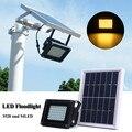 Solare 54 HA CONDOTTO LA Luce di Inondazione del Sensore Della Lampada del Punto del Giardino Esterno Impermeabile Giardino Esterno Lampade di Sicurezza Bianco Caldo
