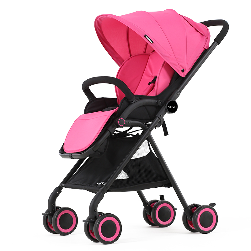 Luxury Stroller ultra lightweight high landscape can be folding umbrella car can sit can lie baby stroller baby stroller childre