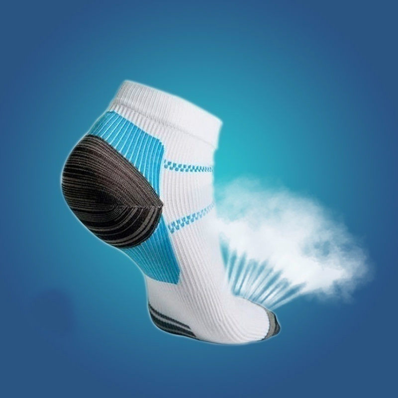 1 Pair High Quality Foot Compression   Socks   For Plantar Fasciitis Heel Spurs Arch Pain Comfortable Men   Socks   Venous ankle   sock