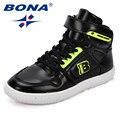 Детские кроссовки BONA  классические  синтетические  с высоким берцем  для девочек  на каждый день  с эластичным ремешком  для мальчиков  для от...