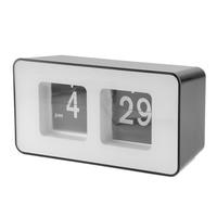 En plastique Chambre Électronique Affichage Numérique Horloge de Table Bureau Décor À La Maison Artisanat Décoration De La Maison Artisanat Blanc Noir