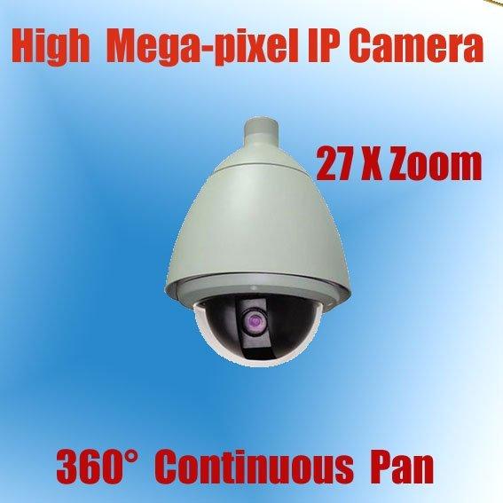 H.264 Dual Stream High Speed IP PTZ Camera  27x ptz ip camera KE-NP6900