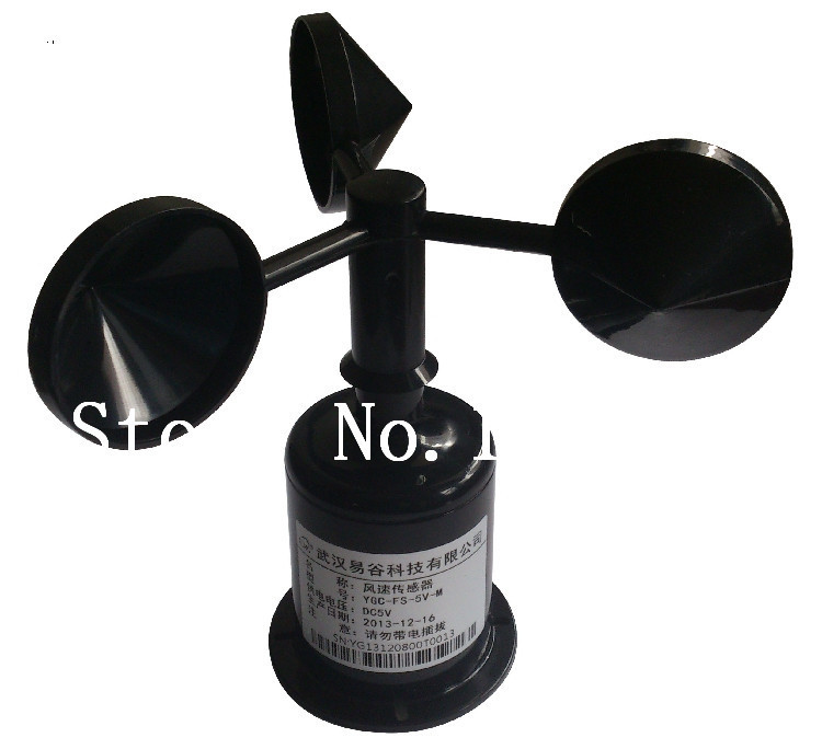 [BELLA]Wind speed sensor / transmitter / cups anemometer (The standard 5V power supply, pulse signal )[BELLA]Wind speed sensor / transmitter / cups anemometer (The standard 5V power supply, pulse signal )