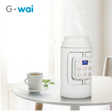 лучшая цена Portable Multifunction Electric Kettle Travel Camping Water Boiler Household Automatic Heating  Stainless Steel Teapot 110V-250V