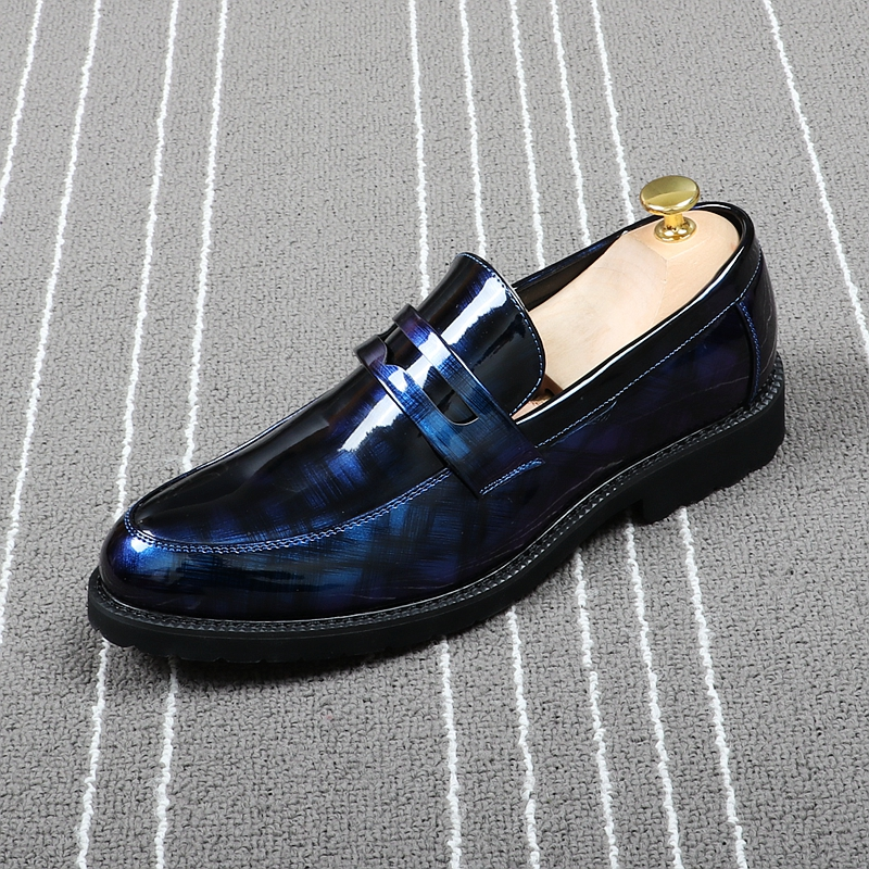 CuddlyIIPanda hommes chaussures formelles noir bout rond loisirs chaussures Brogue mode affaires bureau robe chaussures classique hommes affaires