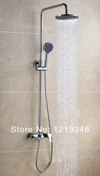 exposed pipe shower . ARTKING EXPOSED PIPE SHOWER WITH HAND In Bathtub Faucets From