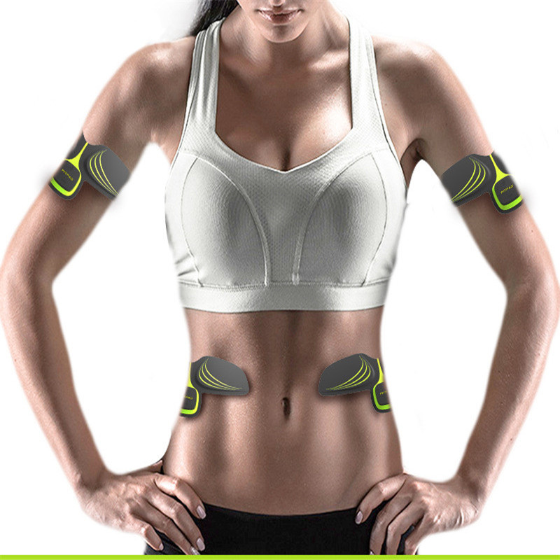 Fine Wireless Smart Muscle Trainer Arm Intensive Training Device Pad Arm Sticker Body Exercise Fitness Fitness Sports Equipment Fitness & Body Building