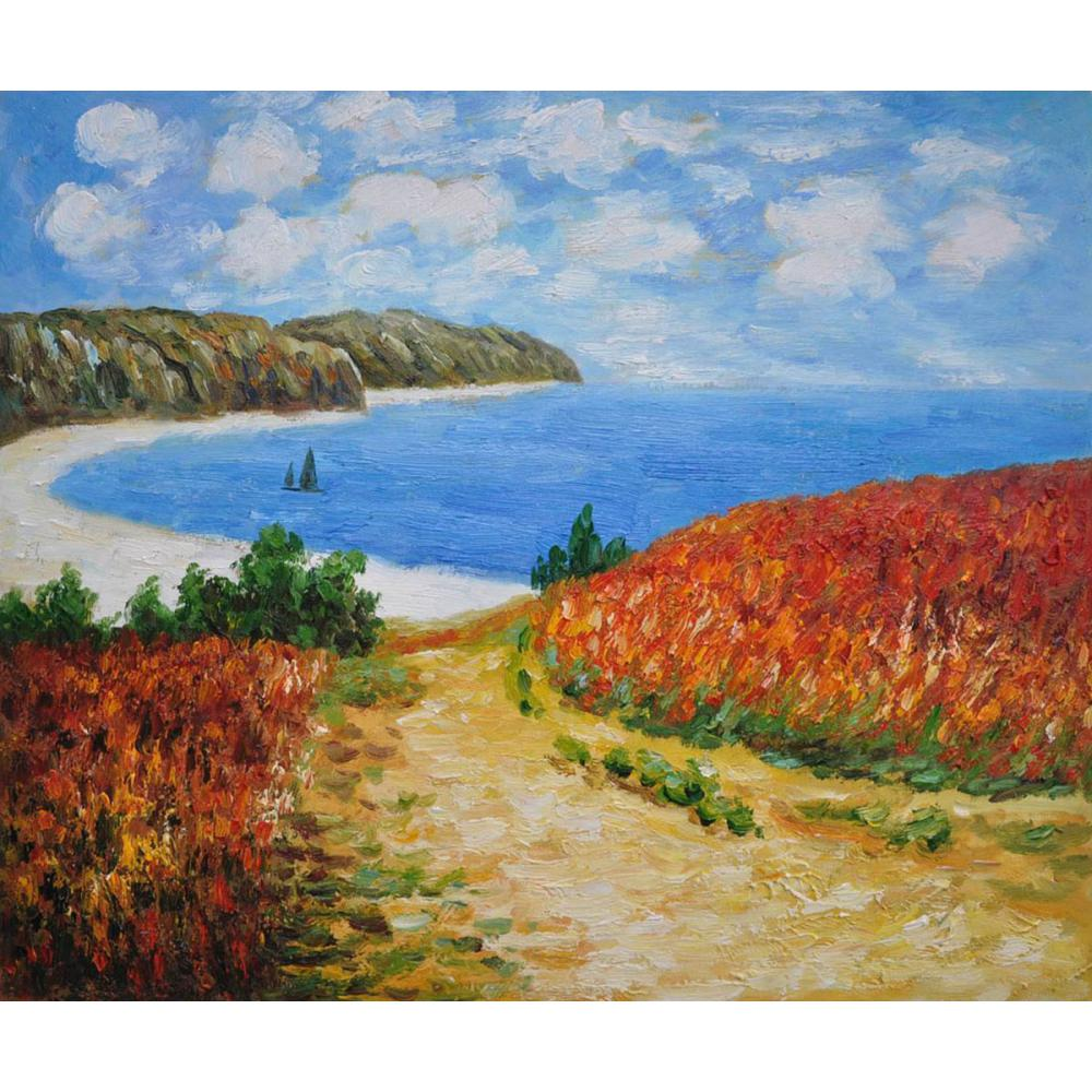 High quality Claude Monet paintings for sale Meadow Road