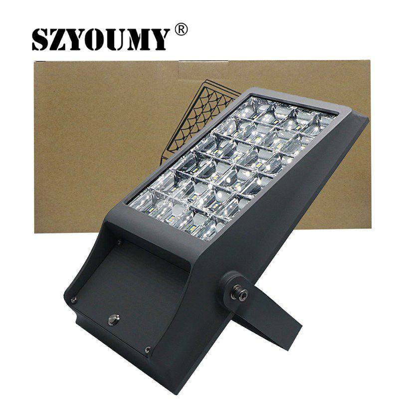 SZYOUMY 32 LEDS 8W Solar Lights Outdoor Garden Waterproof Lamp ON/OFF Working Mode Motion Sensor 48 Leds 12W Flood Light
