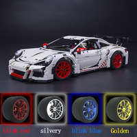 LEPIN 20001 2758 PCS Technical Series Race With Car Set Compatible With 3368 42056 Model Building