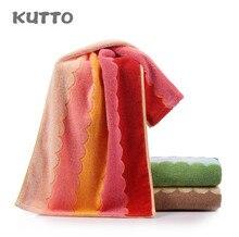 Kutto New twist woven towel wave jacquard pure cotton 34*75cm