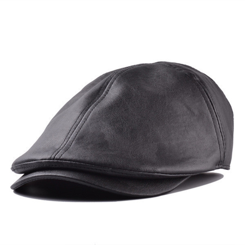 Wholesale 2015 New Spring Or Winter Newsboy Caps For font b Women b font Plaid Leather