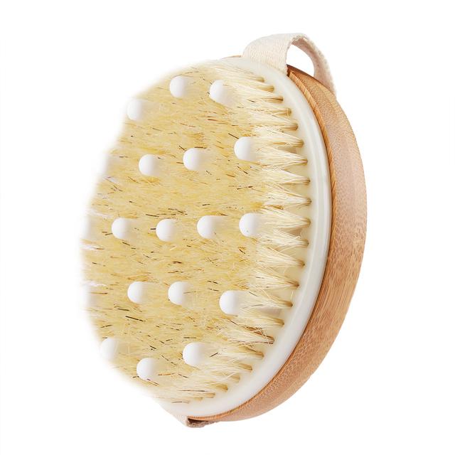 Shower Massage Bristle Brush