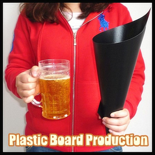Plastic Board Production Stage Magic Tricks Comedy Easy to do Wine Appearing Party Magic show illusion bioplastic production in plastic age