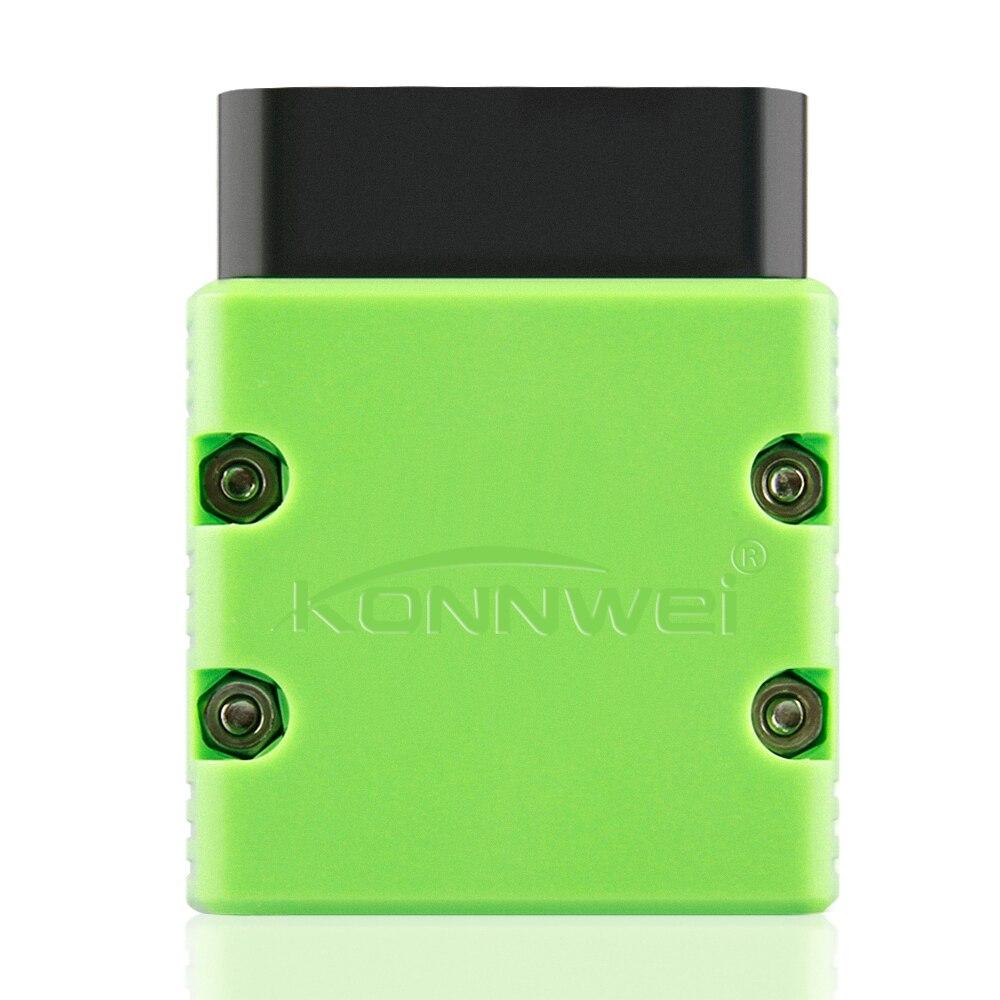 Автомобильный диагностический сканер KONNWEI elm327 V1.5 Bluetooth KW902 OBD2 Elm 327 V 1,5 OBD 2, чип V1.5 PIC18F25K80 elm327 на Android