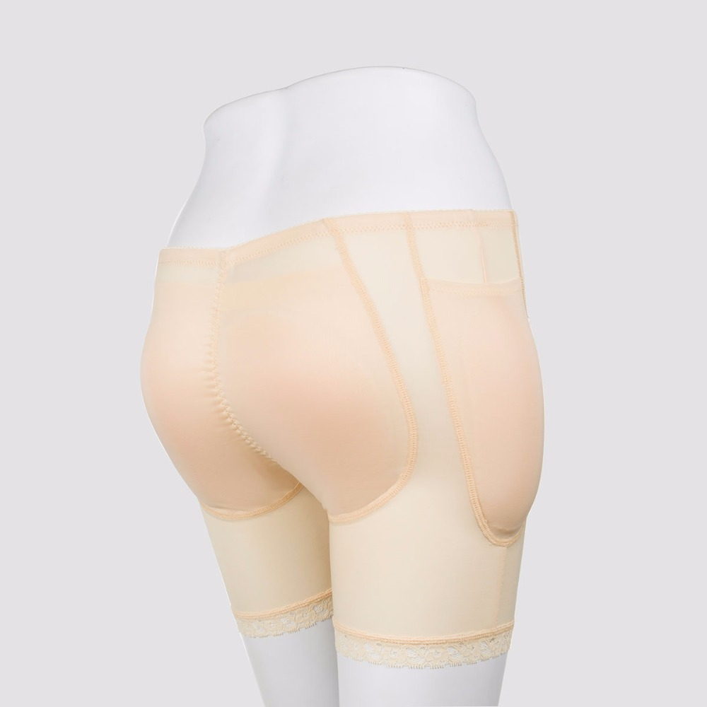 Braces & Supports Sexy Hip Buttock Padded Panties Fake Ass Underwear Push Up Silicone Padded Panties Shemale Drag Queen Butt Lifter Hip Enhancer
