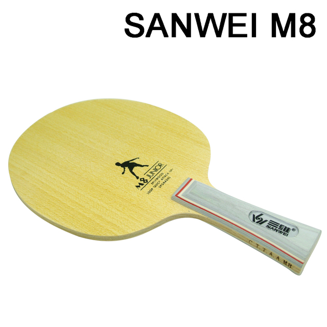 SANWEI M8 Professional  5 wood Table Tennis Blade/ ping pong blade/ table tennis bat