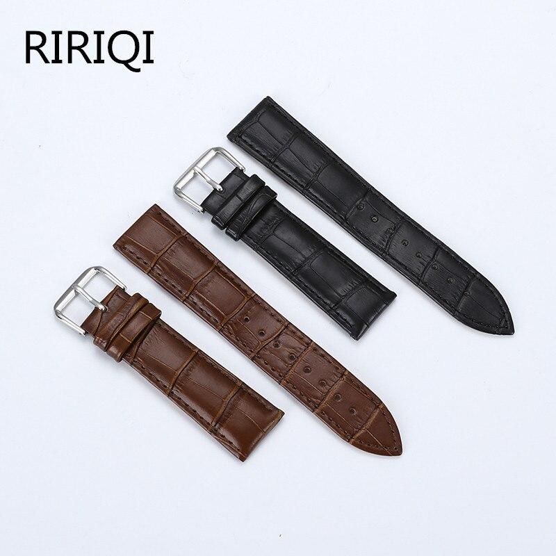 Регулируемый кожаный ремешок для часов, 16 мм, 18 мм, 19 мм, 20 мм, 21 мм, 22 мм, 23 мм, 24 мм Ремешки для часов      АлиЭкспресс