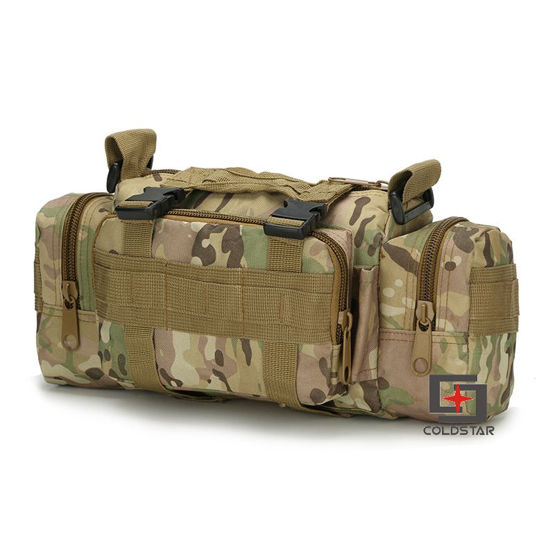 New Arrival CP Camo Waist Pocket Camera Bag Saddle Bag Tactical Military Fans Outdoor Leisure Shoulder