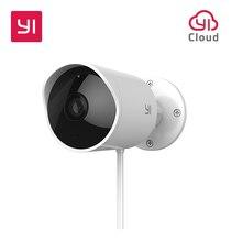 YI Outdoor Security Camera Cloud Cam Wireless IP 1080p Resolution Waterproof Night