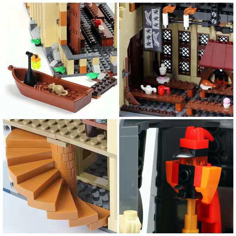 Image 3 - 926 шт наборы фильмов 16052 совместимы с моделями строительных комплектов замок зал блоки игрушки 75954 JP39144-in Блоки from Игрушки и хобби