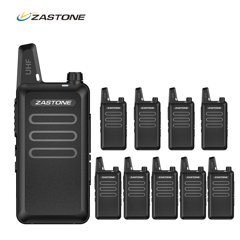 10pcs ZASTONE X6 Portable Mini...