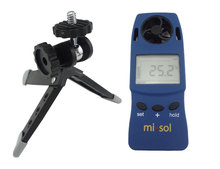 Cheaper Handheld Anemometer with Tripod, wind chill thermometer,  wind speed