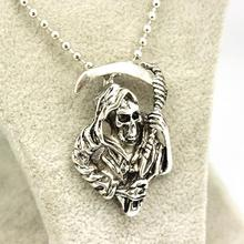 NIANA Pendant Necklace Necklace Fashion Vintage Skull Movie Accessories Jewelry For Men and Women Wholesale