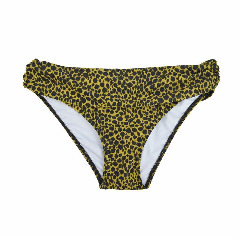 Летние женские микро бикини шорты Бикини Низ с низкой талией спортивный Ruched Сексуальная купальная одежда купальный костюм для девочек плавки B611 - Цвет: B611H