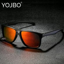 229662e0a7709 YOJBO Luxury Women Men Sunglasses Polarized 2018 Vintage Retro High Quality  Brand Designer Sun Glasses Ladies Mirrored Eyewear